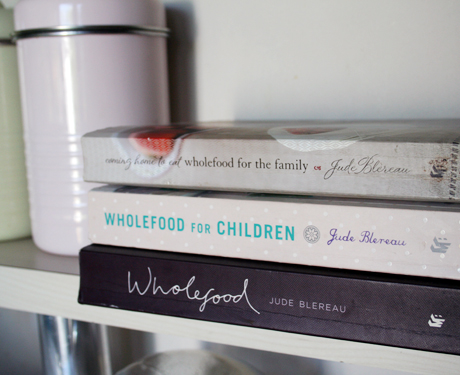 wholefood recipe books