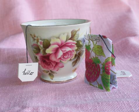 homemade teabag`