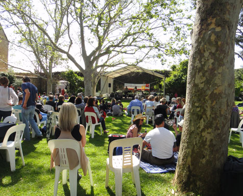 fremantle arts centre music in the courtyard