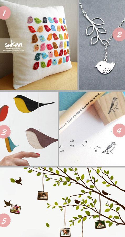 etsy shopping: bird
